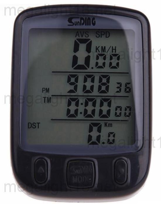 Инструкция велоспидометра sd-563b